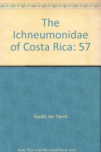 9781887988018: The Ichneumonidae of Costa Rica (Memoirs of the American Entomological Institute)