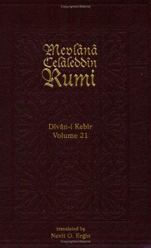 Divan-i Kebir: Hezec Mahbun Matviyy: Rumi, Mevlana Celaleddin