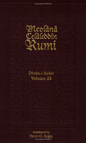 Divan-i Kebir: Bahr-i Remel Mahbun Meskuk: Rumi, Mevlana Celaleddin