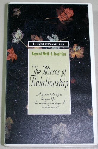 9781888004199: The Mirror of Relationship [VHS]