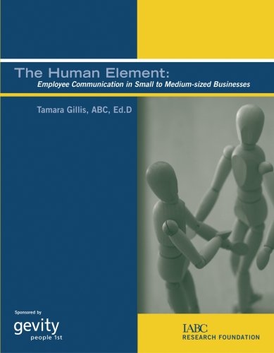 9781888015614: The Human Element: Employee Communication in Small to Medium-sized Businesses