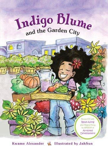 9781888018981: Indigo Blume and the Garden City (Book & CD)