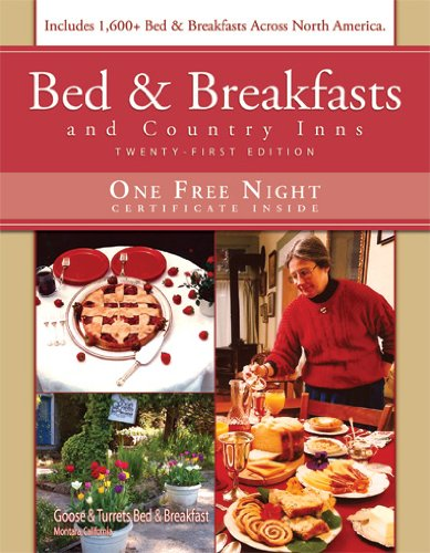 9781888050219: Bed & Breakfast and Country Inns, 21st Edition