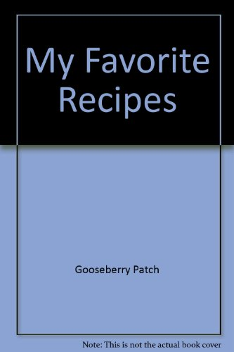 9781888052411: My Favorite Recipes