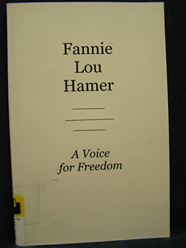9781888105629: Fannie Lou Hamer: A Voice for Freedom (Avisson Young Adult Series)