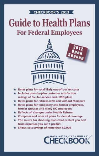 9781888124262: CHECKBOOK's 2013 Guide to Health Plans for Federal Employees