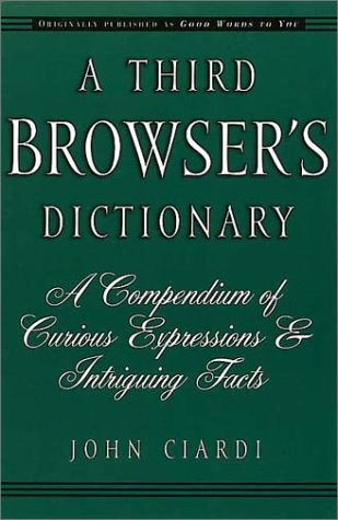 9781888173437: A Third Browser's Dictionary