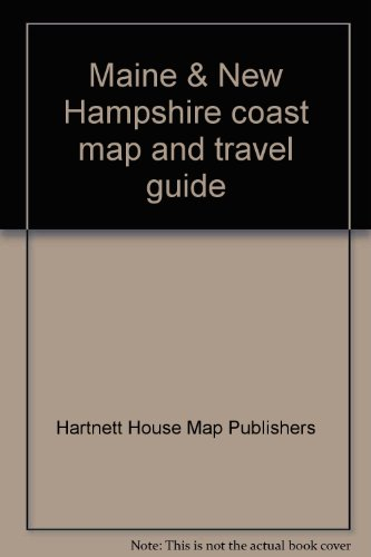 9781888216073: Maine & New Hampshire coast map and travel guide