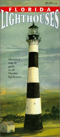 9781888216172: Florida Lighthouses Map & Guide
