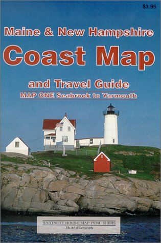9781888216189: Maine & New Hampshire Coast Map and Travel Guide (Set)