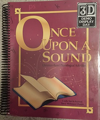 9781888222319: Once upon a Sound: Literature-Based Phonological Activities