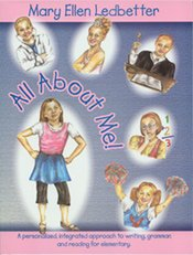 9781888237573: All About Me! A Personalized, Integrated Approach To Writing, Grammar, And Reading For Elementary.