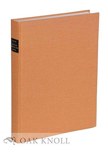 Compendiosa Bibliografia Di Edizioni Bodoniane: Brooks, H. C.; Oxford, M. A.