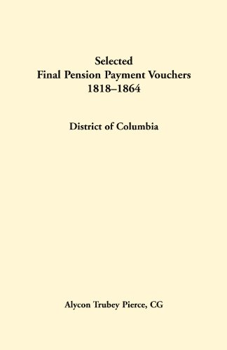 Selected final pension payment vouchers, District of: Pierce CG, Alycon