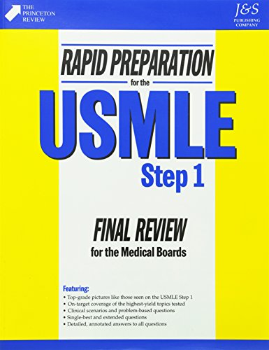 9781888308020: Rapid Preparation for the USMLE, Step 1