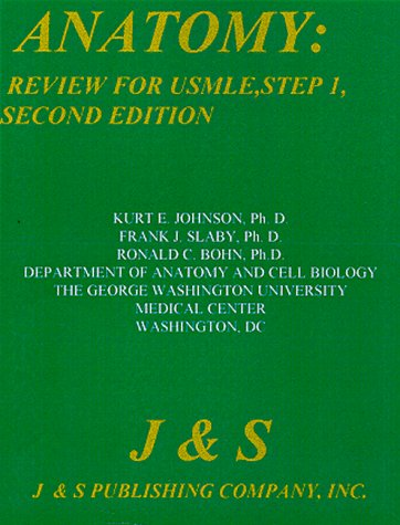9781888308037: Anatomy : Review for USMLE, Step 1