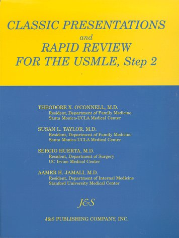 9781888308051: Classic Presentations and Rapid Review for USMLE, Step 2