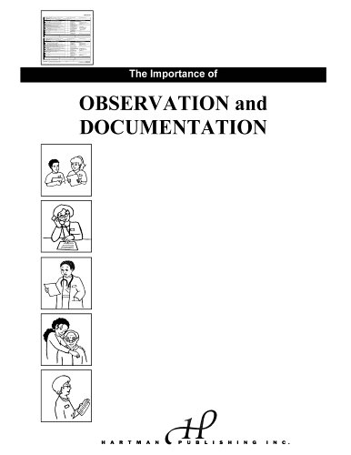 The Importance of Observation and Documentation (9781888343137) by Jetta Fuzy RN MS