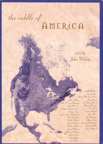 "9781888365320: The Riddle of America: Essays Exploring America's ""Native Expression-Spirit"""