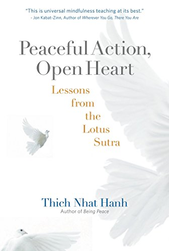 9781888375930: Peaceful Action, Open Heart: Lessons from the Lotus Sutra