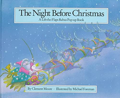 The Night Before Christmas: A Lift-The-Flap Rebus: Foreman, Michael