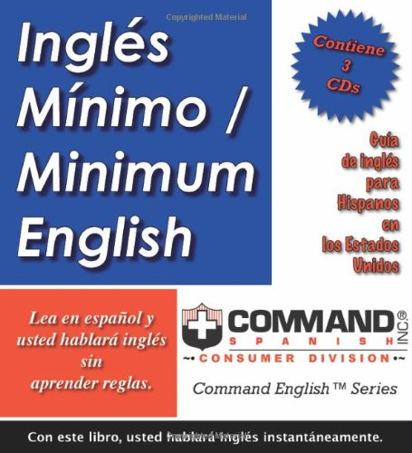 9781888467635: Inglés Mí­nimo/Minimum English (Command English)