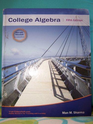 9781888469851: College Algebra (Pre-Calculus 1)