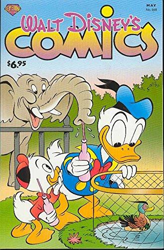 Walt Disney's Comics And Stories #668 (No. 668) (188847226X) by Daan Jippes; Donald D. Markstein; Dick Kinney; Merrill De Maris; Bill Walsh; Per Hedman