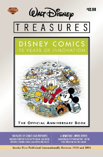 Walt Disney Treasures - Disney Comics: 75 Years of Innovation (1888472375) by Floyd Gottfredson; Ted Osborne; Walt Kelly; Hubie Karp; Carl Buettner; Bill Walsh; Carl Barks; Gil Turner; Don R. Christensen; Romano Scarpa; Dick...