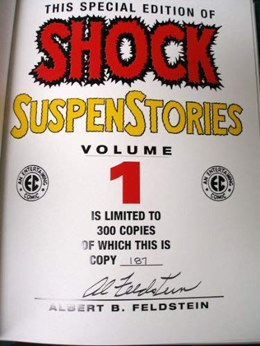 9781888472905: The EC Archives: Shock Suspenstories Volume 1 (Hardcover, Leatherbound)