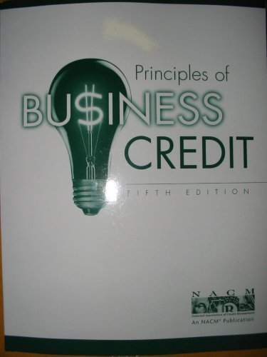 9781888505238: Principles of Business Credit