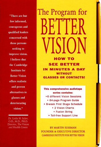 9781888534160: The Program for Better Vision