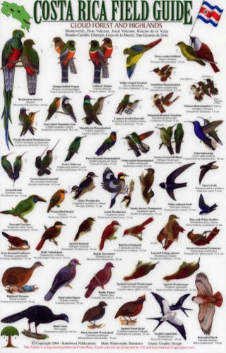 9781888538083: Birds of the Cloud Forest and Highlands (Costa Rica Field Guides)