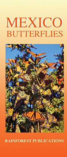 9781888538106: Mexico Pacific Coast Butterflies Identification Guide (Laminated Foldout Pocket Field Guide) (Costa Rica Field Guides)