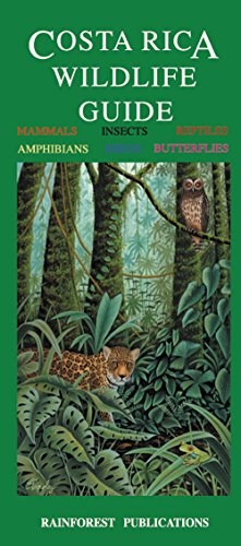 9781888538120: Costa Rica Wildlife Guide (Laminated Foldout Pocket Field Guide) (English and Spanish Edition)
