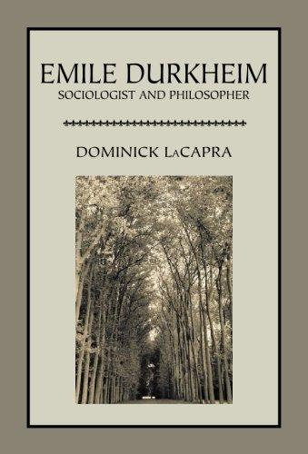 9781888570601: Emile Durkheim: Sociologist and Philosopher (Critical Studies in the Humanities)