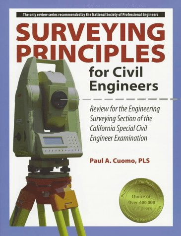 9781888577082: Surveying Principles for Civil Engineers
