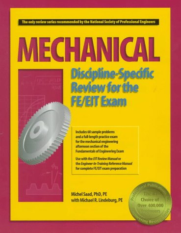 Mechanical Discipline-Specific Review for the FE/EIT Exam: Michel Saad, Abdie