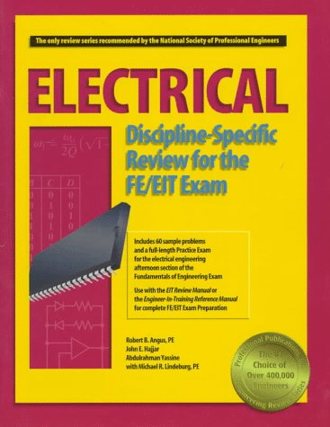 9781888577204: Electrical Discipline-Specific Review for the FE/EIT Exam