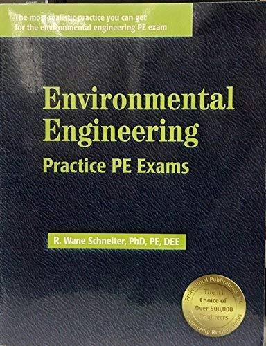 9781888577297: Environmental Engineering Practice Pe Exams