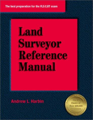 9781888577501: Land Surveyor Reference Manual