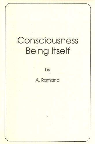 9781888599077: Consciousness Being Itself