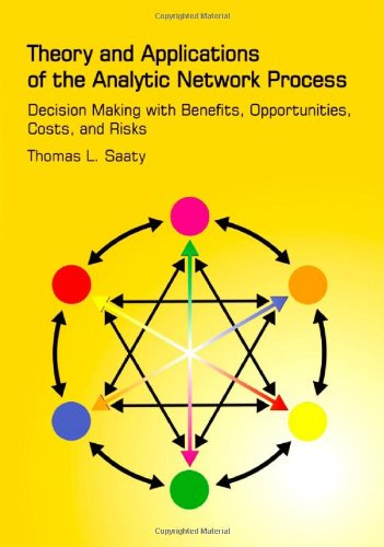 9781888603064: Theory and Applications of the Analytic Network Process: Decision Making with Benefits, Opportunities, Costs, and Risks