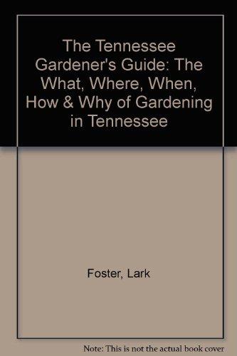 9781888608380: Tennessee Gardener's Guide