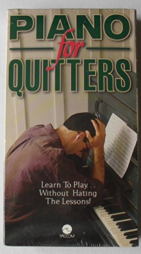 9781888617047: Piano For Quitters [VHS]