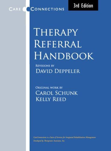 9781888629002: Therapy Referral Handbook