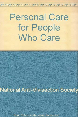 9781888635003: Personal Care for People Who Care