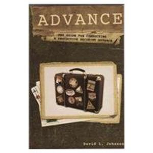 9781888644555: Advance: The Guide for Conducting a Protective Security Advance