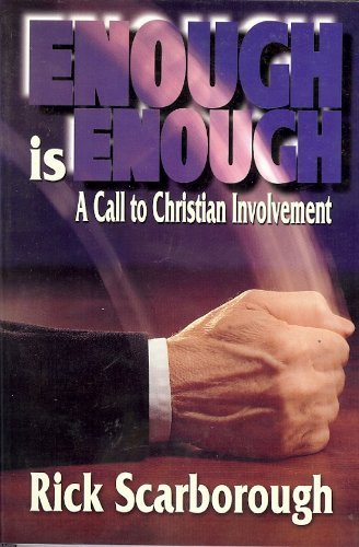 9781888684001: Enough Is Enough, a Call to Christian Involvement