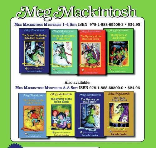 9781888695090: Meg Mackintosh Mysteries Set: Books 5-8 (Meg Mackintosh Mystery series)